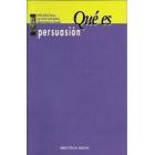 Qué es persuasión