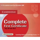 Complete First Certificate Class Audio CDs