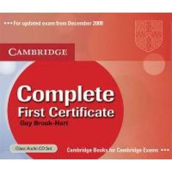 Complete First Certificate Class Audio CDs