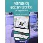 Manual de edición técnica: del original al libro