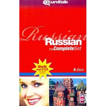 Eurotalk Russian The Complete Set (Voc Builder - Talk Now - Talk More - World Talk y Extras)