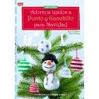 Adornos tejidos a punto y ganchillos para Navidad