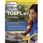 Cracking the TOEFL 2017 with audio CD