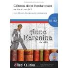 Anna Karenina. Clásicos de la literatura rusa escritos en ruso fácil