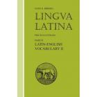 Lingva latina per se illvstrata: Exercitia latina