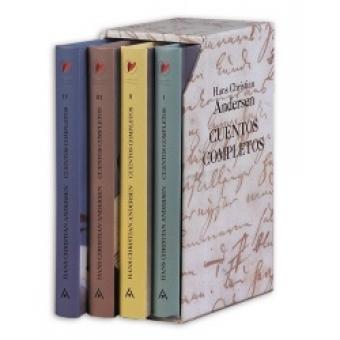 Cuentos completos : la sirenita y otros cuentos ; La pequeña cerillera y otros cuentos ; Chiquilladas y otros cuentos ; Peiter y Peter y otros cuentos (4 vol)