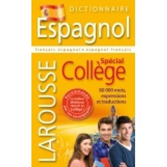 Dictionnaire Espagnol - Spécial Collège - Français-espagnol/espagnol-français