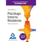 Manual para la Preparación del Examen PIR Vol II. 2017