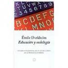 Educación y sociología
