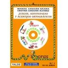 Juegos, adivinanzas y acertijos ortográficos (incl. Audio CD)