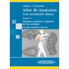 Atlas de anatomía. Con correlación clínica, sistema nervioso y órganos de los sentidos