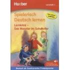 Spielerisch Deutsch Lernen. Lernkrimi - Das Monster im Schullkeller (Audio MP·-Download)