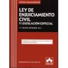 Ley de enjuiciamiento civil y legislación especial