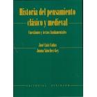 Historia del pensamiento clásico y medieval: cuestiones y textos fundamentales