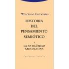 Historia del pensamiento semiótico, 1 (La Antigüedad grecolatina)