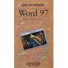 Word 97:Guia de iniciacion