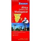 Africa Centro-Sur, Madagascar (nacional-rojo) 746 1/4.000.000