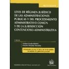 Leyes de régimen jurídico de las administraciones públicas y del procedimiento