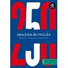 250 ejercicios de INGLÉS (Libro + CD)