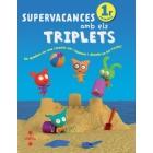 Supervacances Amb Els Triplets 1r Primaria (2011) Un quadern en una carpeta per repassar i divertir-se tot l'estiu