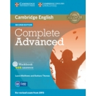 Complete Advanced (Second Edition) Workbook with answers with Audio CD