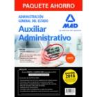 Paquete ahorro Auxiliar Administrativo del Estado incluye (edición 2016)
