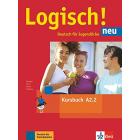Logisch! neu A2.2 Kursbuch mit Audios