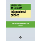 Legislación básica de Derecho Internacional público (19ª edición 2019)