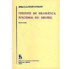 Estudios de gramática funcional del español