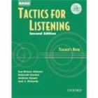 Tactics for Listening Basic. (Teacher's & Cd pack)