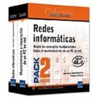 Redes informáticas. Pack 2 libros: desde los conceptos fundamentales hasta el mantenimiento de un PC en red