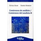 Comienzos de analisis / Comienzos del analista II