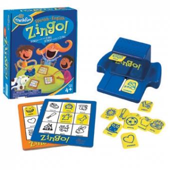 Spanish-English Zingo! Bingo con un Zing!