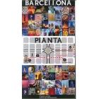 Barcelona Mapa (italiano)
