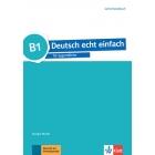 Deutsch echt einfach für Jugendliche B1 Lehrerhandbuch