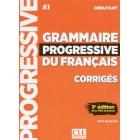 Grammaire progressive du français - Niveau débutant A1. 3ème édition - Corrigés