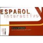 Español interactivo. Curso español con 2 CD - Rom + guía del usuario español - inglés - francés