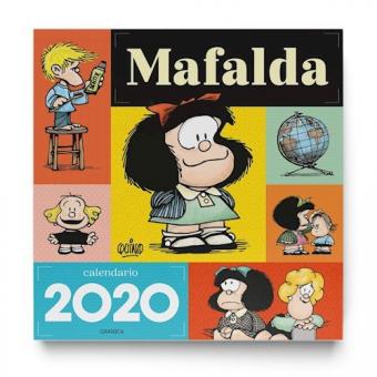 Calendario Mafalda 2020 Pared