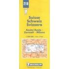 Suisse  = Schweiz = Svizzera : Aosta/Aoste - Zermatt - Milano