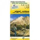 Mapa de excursionista : Puignal - Costabona : Núria - Carançá - Volcans de la Garrotxa