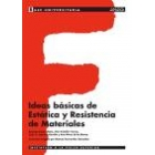 Ideas básicas de Estática y resistencia de materiales. Base universitaria