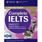 Complete IELTS Bands 6.5-7.5 Student's Pack C1 (Student's Book with answers with CD-ROM and Class Audio CDs)