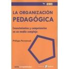 Organización pedagógica