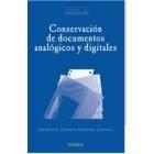 Conservación de documentos analógicos y digitales