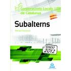 Subalterns de Corporacions Locals de Catalunya. Temari General (2017)