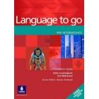 Language to go. Pre-Intermediate Student's with Phrasebook