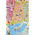Plano Mural de Barcelona Distritos Postales