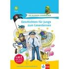 Geschichten für Jungs zum Lesenlernen: 1. Klasse.