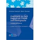 Grammatik im Fach Deutsch als Fremd- und Zweitsprache
