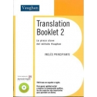Translation Booklet 2 (libro CD)